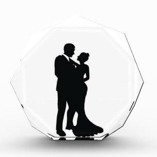 Wedding Couple Silhouette Award