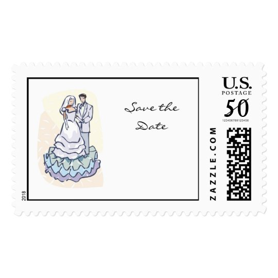 Wedding Couple Stamp