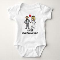 Wedding Couple - Under New Management Baby Bodysuit