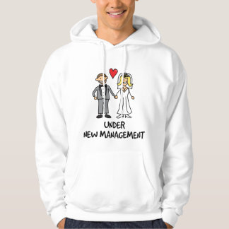 Wedding Couple - Under New Management Hoodie