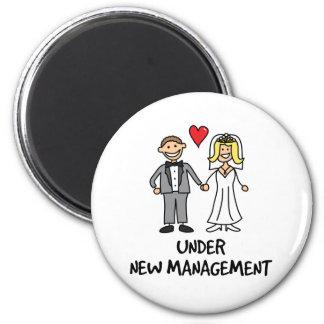 Wedding Couple - Under New Management Magnet