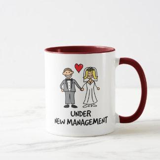 Wedding Couple - Under New Management Mug