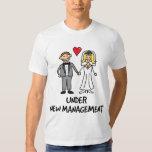 Wedding Couple - Under New Management Tee Shirt