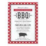Wedding Couple's Shower | Backyard BBQ Theme 5x7 Paper Invitation Card