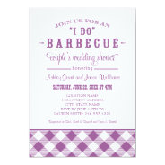"Wedding Couple's Shower Invitation | ""I Do"" BBQ at Zazzle"