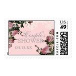 Wedding Couples Shower Stamp, Trellis Rose Vintage Postage Stamps