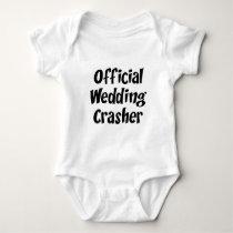 Wedding Crasher Baby Bodysuit