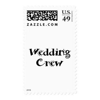 Wedding Crew Stamps