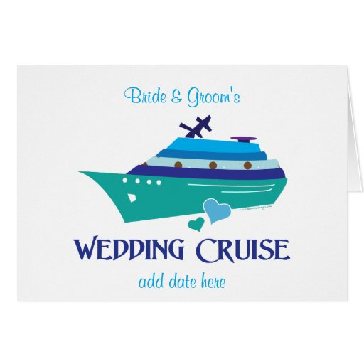 Wedding Cruise Cards