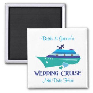 Wedding Cruise Magnet