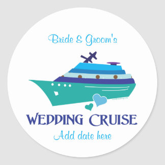 Wedding Cruise Sticker