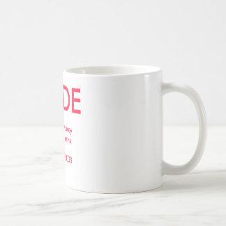 Wedding Cup Classic White Coffee Mug