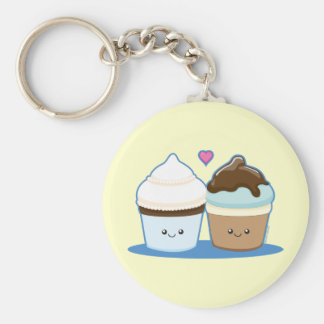 Wedding Cupcakes Keychain