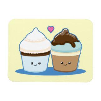 Wedding Cupcakes Rectangular Photo Magnet