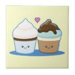 Wedding Cupcakes Tile