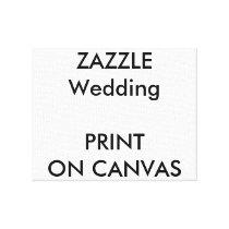 "Wedding Custom 10"" x 8"" Wrapped Canvas Print"