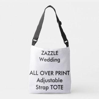 Wedding Custom ALL OVER PRINT MEDIUM Tote W/ Strap