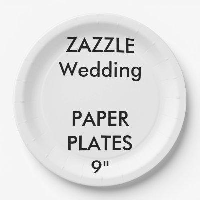 sc 1 st  Zazzle & Create Your Own Paper Plate | Zazzle.com