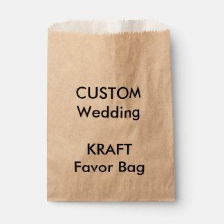 Wedding Custom Paper Favor Bag KRAFT
