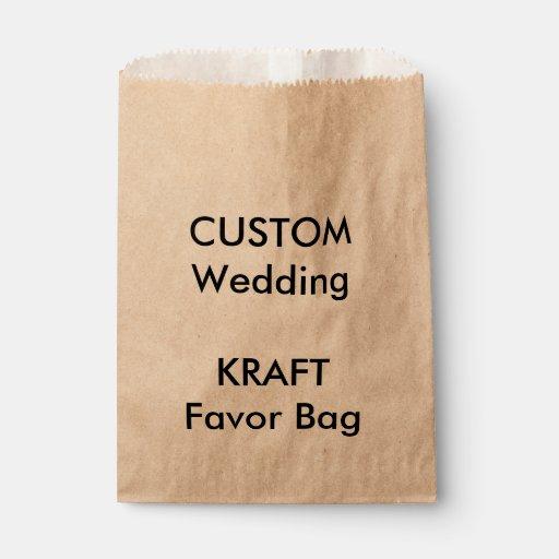 Custom note paper bags wedding