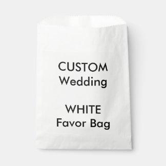Wedding Custom Paper Favor Bag WHITE
