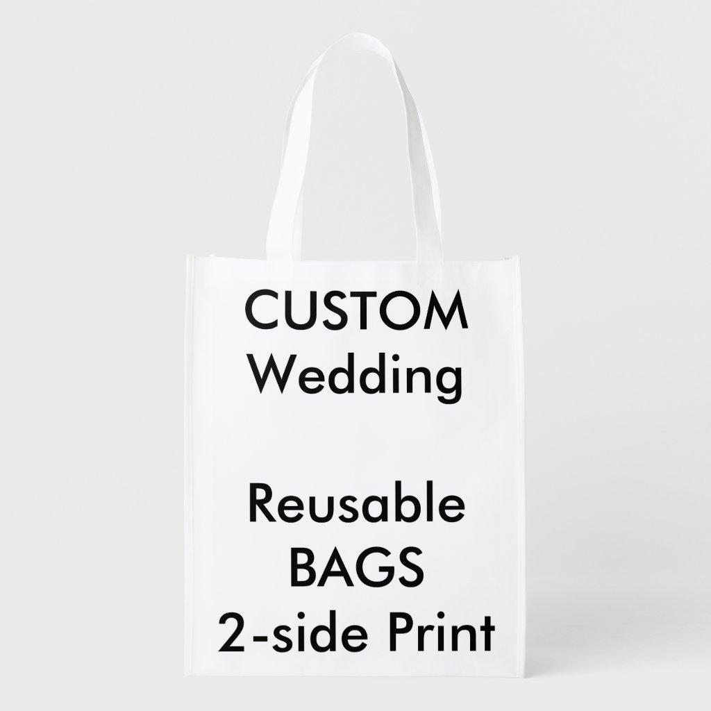Wedding Custom Reusable Bag 12