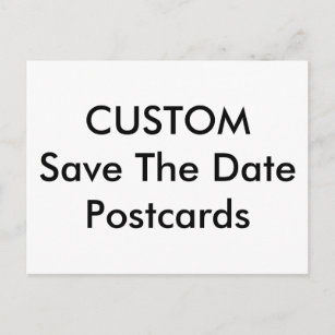 Invitation postcards zazzle wedding custom save the date invitation postcards stopboris Images