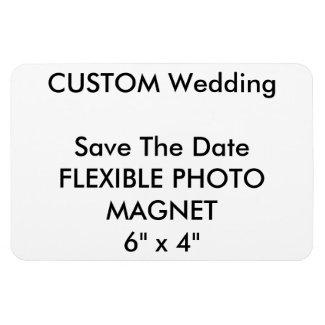 Wedding Custom Save The Date Photo Fridge Magnet