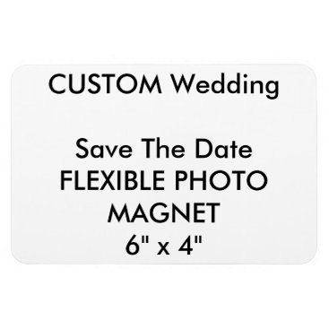 APersonalizedWedding Wedding Custom Save The Date Photo Fridge Magnet