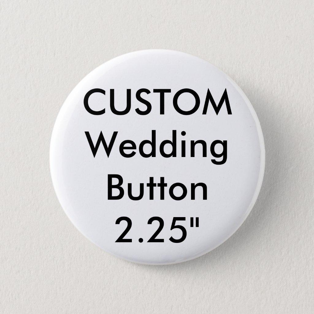 Wedding Custom Standard 2.25