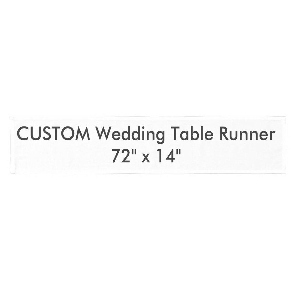 Wedding Custom Table Runner 72