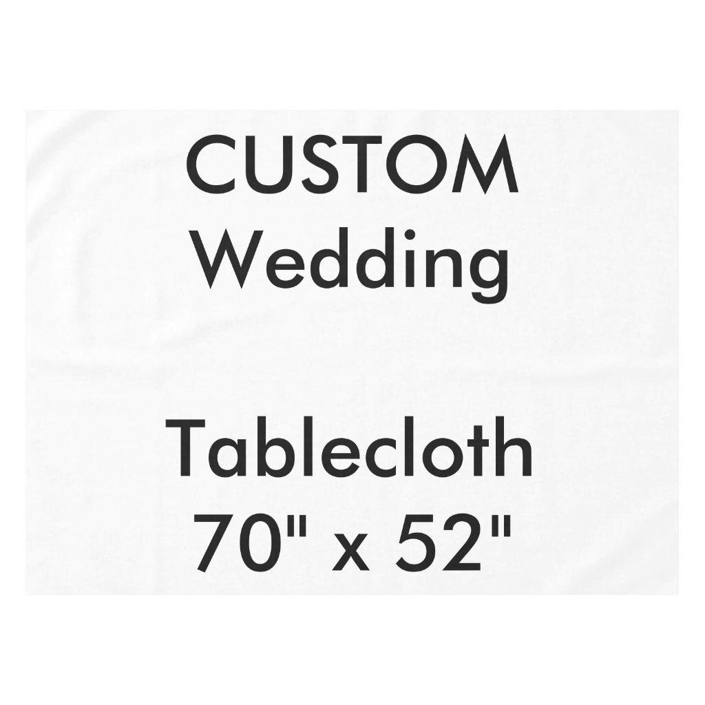 Wedding Custom Tablecloth 70