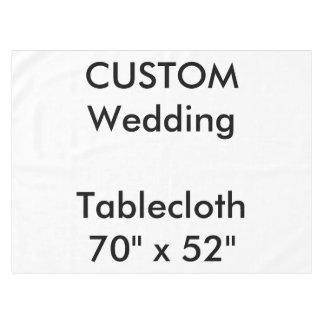 "Wedding Custom Tablecloth 70"" x 52"""