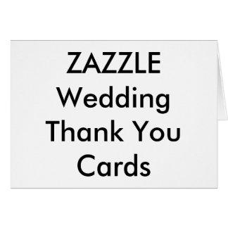 """Wedding Custom Thank You Cards 5.6"""" x 4"""""""