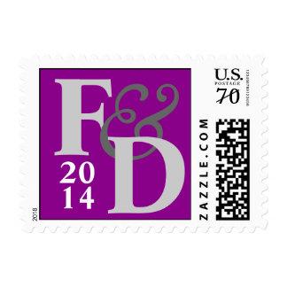 Wedding Customized RSVP Big Stamp
