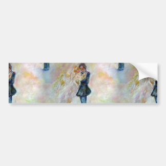 Wedding Dance Whimsical Art Bumper Stickers