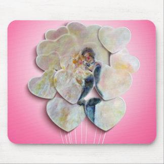 Wedding Dance Whimsical Art Mouse Pad