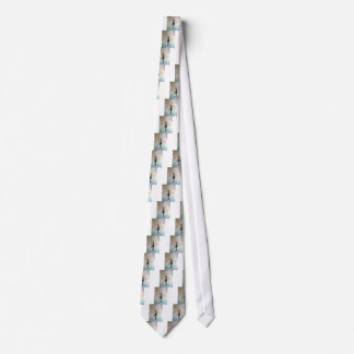 Wedding Dance Whimsical Art Neck Tie