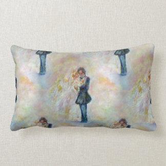 Wedding Dance Whimsical Art Throw Pillow