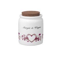 WEDDING DATE MONE JAR TEMPLATE CANDY DISH at Zazzle