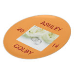 Wedding Date Plate at Zazzle