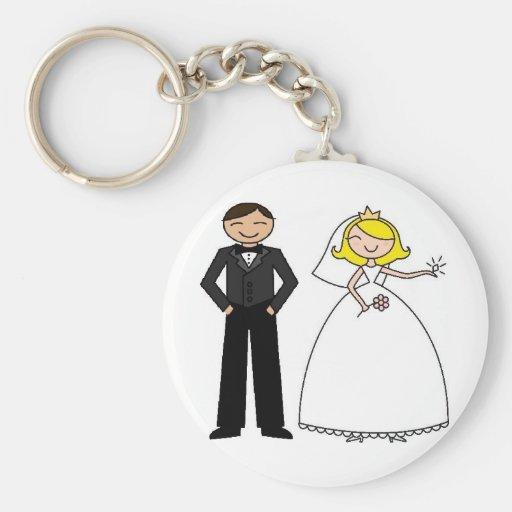 Wedding Day Bridal Bliss Key Chain