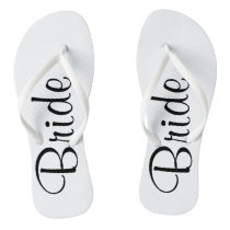 Wedding Day Bride Flip Flops