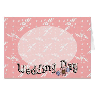 Wedding Day Customizable Card