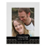 Wedding Day - Guest Book Sign Border Print