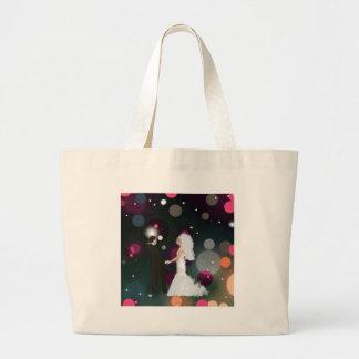 Wedding day large tote bag