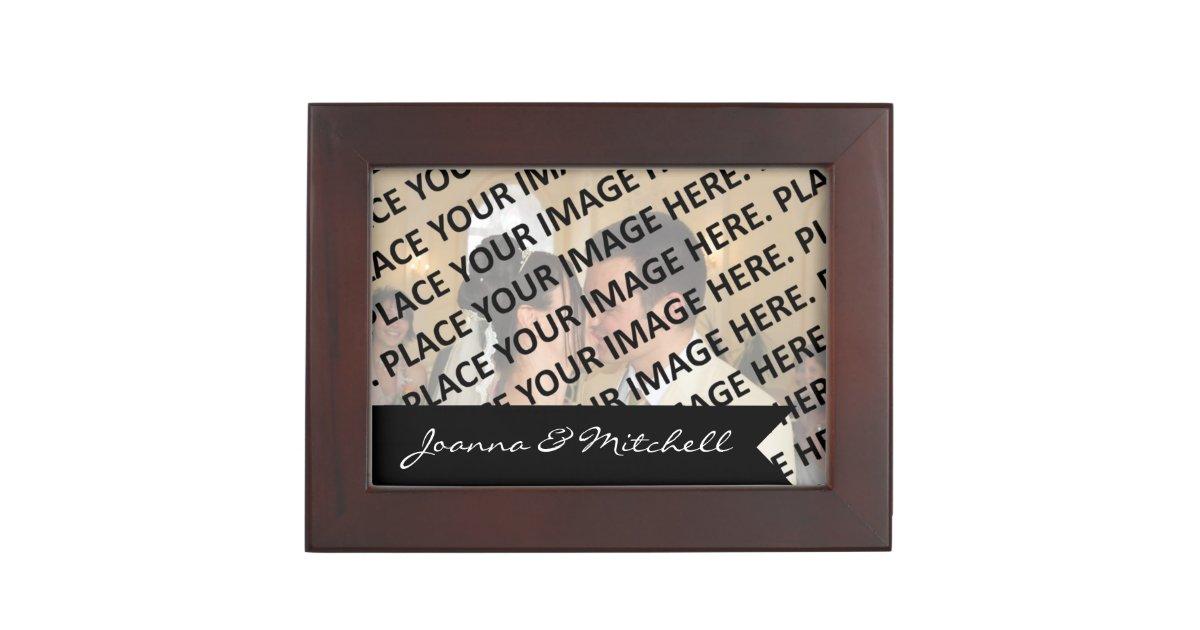 Wedding Day Memory Gift Template Memory Box Zazzle