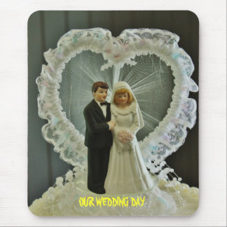 Wedding Day Mousepad