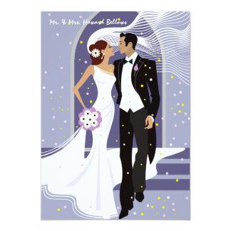 "Wedding Day - Post Wedding Announcement 5"" X 7"" Invitation Card"