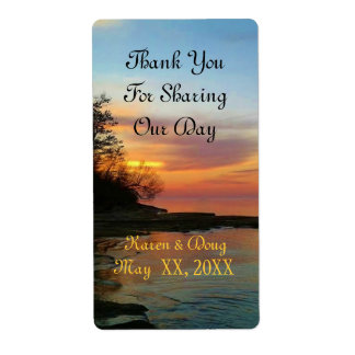 Wedding Day Thank You Labels